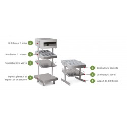 Distributeur à pains - SELF-SERVICE 750 - SEP - Nosem