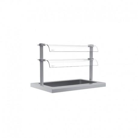 Étagère en verre - SELF-SERVICE 750 - SAV14502P - Nosem