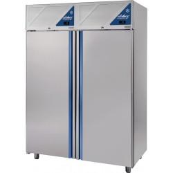 Armoire réfrigérée -18/-22 / -18/-22 - 2 portes pleines - 1400 L - Sans groupe logé - DA1400NNSG-3 - Dalmec