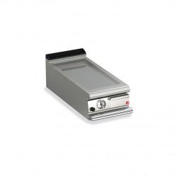 Grillade gaz - Plaque lisse 17,3 dm² - Gamme Queen 700 - 70QFTG403 - Baron