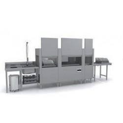 Lave-vaisselle à avancement automatique - Prélavage + Lavage + Triple rinçage - PRO31212