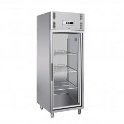 Armoire réfrigérée positive -2/+8°C - 1 porte vitrée - 685 litres - Avec groupe logé - A701TNV - Nosem