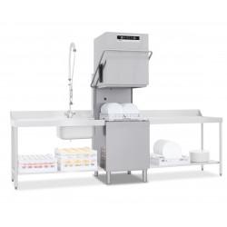 Lave-vaisselle à capot - 22 litres - Panier 500 x 500 mm - NEO803V1