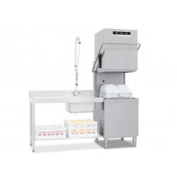 Lave-vaisselle à capot - 30 litres - Panier 500 x 600 mm - NEO803LV1