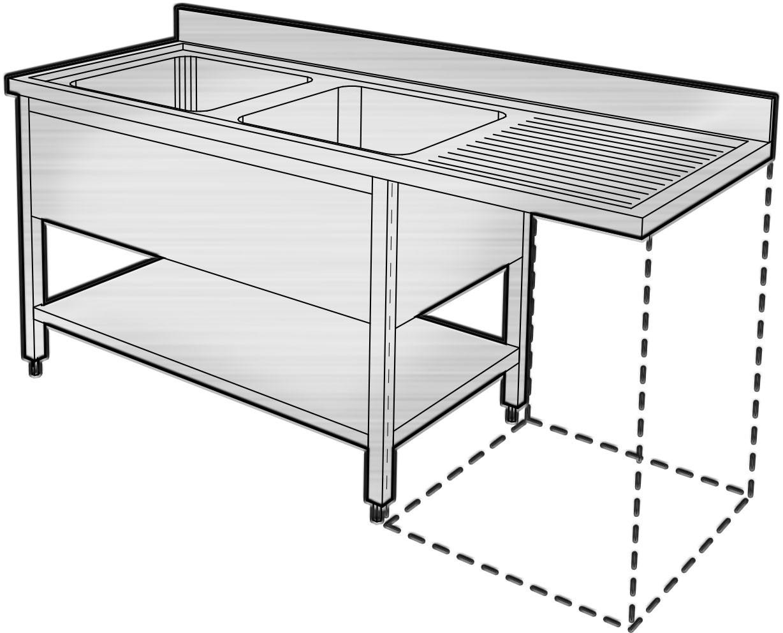 dimension lave vaisselle standard affordable taille with dimension lave vaisselle standard x. Black Bedroom Furniture Sets. Home Design Ideas