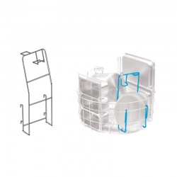 Colged - Support pour casseroles et poêles de petites dimensions - GRSPP