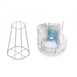 Colged - Support panier avec porte ustensiles et bloque casseroles - GRSPPO