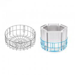 Colged - Panier rond pour lave-batterie à granules - PRGR900