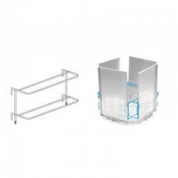Colged - Support pour bacs (4 pcs) pour lave-batterie à granules - SBGR900