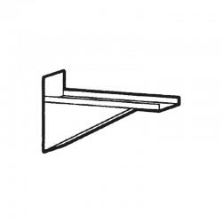 Nosem - Support MEST pour étagère barreaudée - Prof. 400 mm - MESTB40T