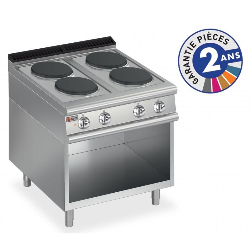 Baron gamme 700 4 plaques de cuisson lectriques - Plaque de cuisson four ...