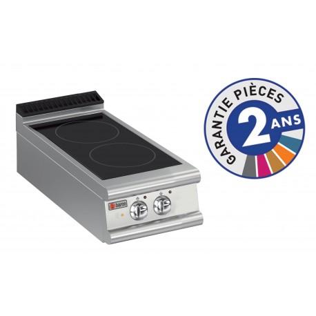 Plaque de cuisson - Vitrocéramique 2 zones - Gamme 700 - Baron