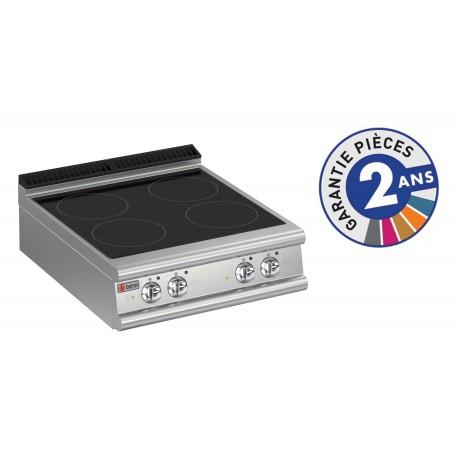 Plaque de cuisson - Vitrocéramique 4 zones - Gamme 700 - Baron