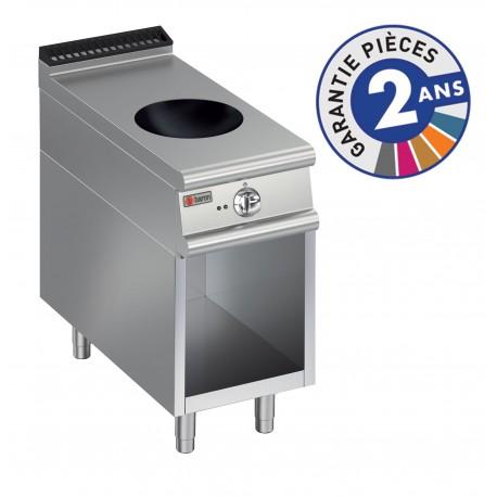 Plaque de cuisson - Induction Wok 1 zone sur placard ouvert - Gamme 700 - Baron