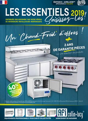 Catalogue les essentiels avril 2019
