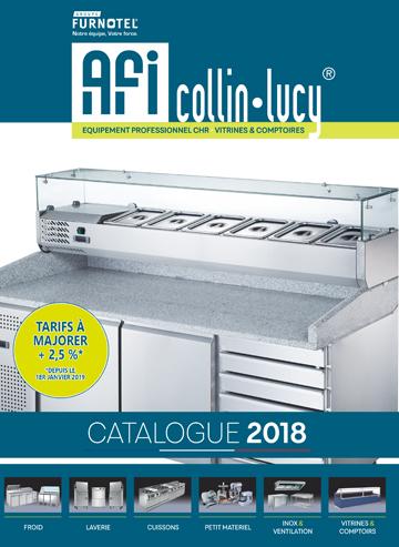 Catalogue tarif COLLIN-LUCY