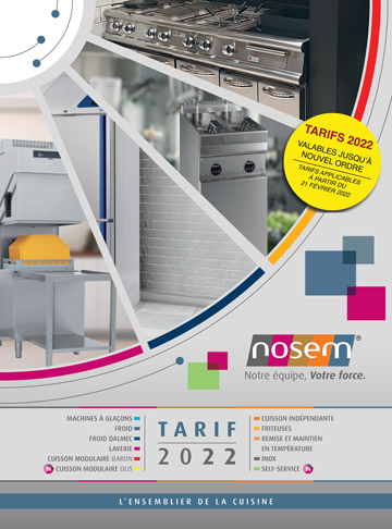 Catalogue tarif NOSEM 2020 - 2021